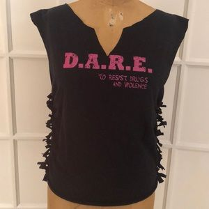 Tops - DARE deconstructed t-shirt